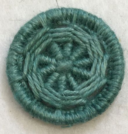 Dorset Button Kit - Yarrell Design, Sage (plant fibre)